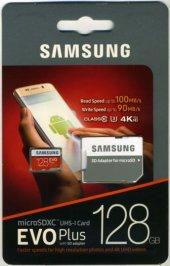 Samsung EVO Plus 128GB 100 MB/s microSDXC Kart (SD Adaptör) MB-MC128GA/TR