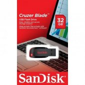 Sandisk Cruzer Blade 32gb Usb Bellek (Sdcz50 032g B35)