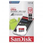 Sandisk Ultra 128gb Microsdxc Uhs I Hafıza...