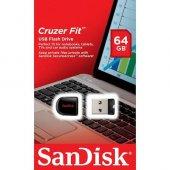 Sandisk Cruzer Fit 64gb Usb Bellek (Sdcz33 064g...