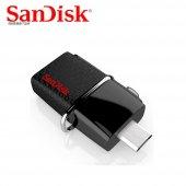 Sandisk Dual Drive Otg 128 Gb Usb 3.0 Flas