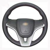 Chevrolet Aveo 2011 2014 Uyumlu Araca Özel Deri Direksiyon Kılıfı