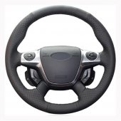 Ford Cmax 2011 2014 Uyumlu Araca Özel Deri Direksiyon Kılıfı