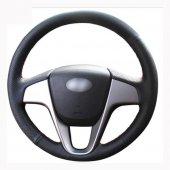 Hyundai İ20 2009 2015 Uyumlu Araca Özel Deri Direksiyon Kılıfı