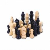 Satranç Ahşap Satranç Piyonu 2 No Orta