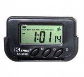 Kenko Kk 613d Dijital Küçük Masa Araba Saati Alarm Kronometre