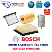 Opel Combo 1.4 İ (04.1996 10.2001) Bosch Filtre Seti Filitre