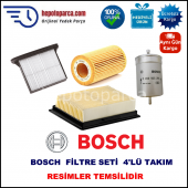 Cıtroen Berlingo 1.6 Hdi (07.2005 10.2011) Bosch Filtre Seti Filitre