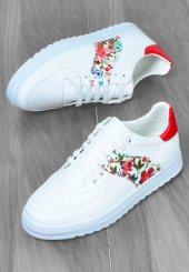 Valentieri Yan Çiçek Desenli Erkek Ayakkabı