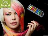 Saç Tebeşiri Hair Chalk (12 Parça) Saç Rengi...