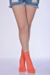 Havlu Kışlık Kadın Soket Çorabı - Mercan B-ART051