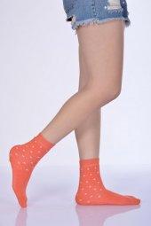 Havlu Kışlık Kadın Soket Çorabı - Mercan B-ART051-3