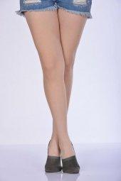 Kadın Babet Çorabı Yeşil B Art048