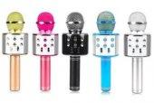 Ws 858 Sihirli Karaoke Bluetooth Mikrofon Aux Sd Kart Hoparlör