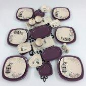 Keramika Retro 30 Parça 6 Kişilik Kahvaltı...