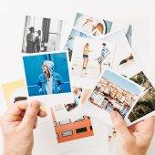 20 Adet Polo Kart - Polaroid Kişiye Özel Fotoğraf Baskısı Vintage-2