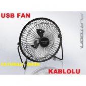 KABLOLU Usb Vantilatör PERVANE Metal KASA Fan ÜFLEME BİLGİSAYAR