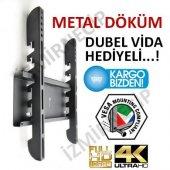 Vestel 4k 40ub6300 102 Ekran Led Tv Askı Aparatı Sabit Duvar