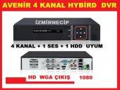 4 Kanal Port Ahd Dvr Kamera Kayıt Avenir Hybrid Analog Ahd