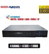 AVENİR Hybrid AHD VE ANALOG DVR KAMERA Kayıt Cihazı 4 KANAL HD-2