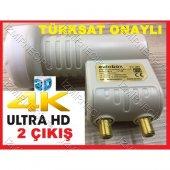 Full Hd 3d 4k Çanak Uydu 2li Lnb Garantili Ucuz...