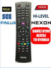 Vestel 3d 4k Kendinden Uydulu Led Tv Kumandası...