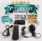 Hd Girişli Led Tv Uyumlu Mini Uydu Alıcısı Tkgs Gü...