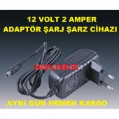 12 Volt 2 Amper Modem Adsl Vdsl Adaptörü...