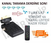 Scart Girişli Tüplü Tv Uyumlu Mini Uydu Cihazı...