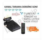 Tüplü Tv İçin Scart Sıkart Uydu Kanal Sıralı...