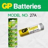 Gp 27a 12v Yüksek Voltaj Alarm Kumanda Pili