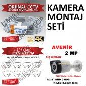 4 Adet Kamera Kablo Montaj Jakı Hepsi Tek...