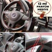 Fiat Doblo Deri Dikişli Direksiyon Kılıfı + Oto Kokusu Hediye