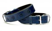 Doggie Comfort Pati Baskılı Boyun Tasması Mavi...