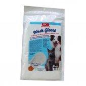 Pet Active Wash Gloves Kuru Yıkama Ve Bakım Kesesi 8 Ad.