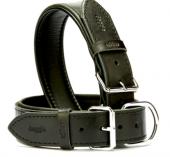 Doggie Comfort Deri Boyun Tasması Siyah 4 X 65cm
