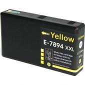 Premium Epson 79xl Uyumlu Yüksek Kapasite Sarı...