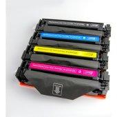 Premium Hp Cf410 Uyumlu 4 Renk Muadil Toner Seti