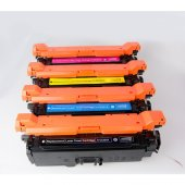 Premium Hp Ce400 Uyumlu 4 Renk Muadil Toner Seti