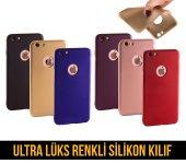 Gcm Iphone 7 8 Plus Ultra Lüks Renkli Silikon Kılıf