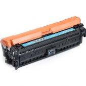Premium Hp Color Laserjet Cp5225dn Uyumlu Mavi Mua...