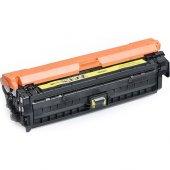 Premium Hp Ce742 Uyumlu Sarı Muadil Toner