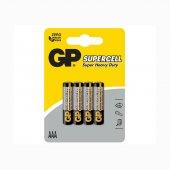 Gp Süpercell Heavy Duty Aaa İnce Pil R03 1.5 V