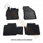 A Kalite 3d Oto Paspas Araca Özel Toyota Corolla 2013 Siyah Tk.
