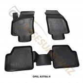 A Kalite 3d Oto Paspas Araca Özel Opel Astra H Siyah Takım