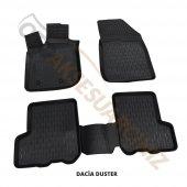 A Kalite 3d Oto Paspas Araca Özel Dacia Duster Siyah Takım