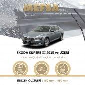 Skoda Süper B 3 2015 Silecek Takım Orjinal Tip Rbw Muz Silgeç