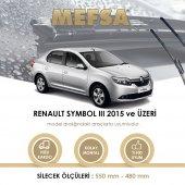 Renault Symbol 3 Iıı 2015 Sonrası Silecek Takım Orjinal Tip Rbw Muz Silgeç