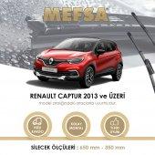 Renault Captur 2013 2016 Silecek Takım Orjinal Tip Rbw Muz Silgeç