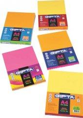 Gıpta Neon-100 A4 Renkli Kağıt 100Lük Paket (5X20 Yaprak )